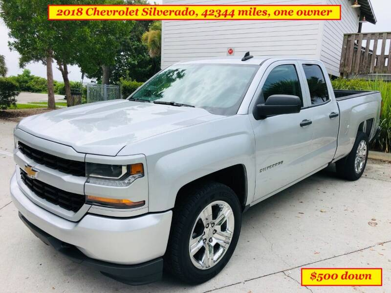 2018 Chevrolet Silverado 1500 for sale at SIMON & DAVID AUTO SALE in Port Charlotte FL