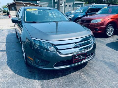 2012 Ford Fusion for sale at SHEFFIELD MOTORS INC in Kenosha WI