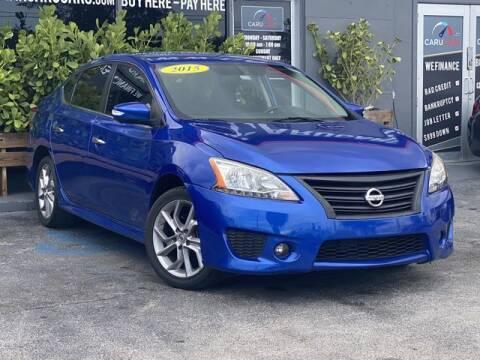 2015 Nissan Sentra for sale at CARUCARS LLC in Miami FL
