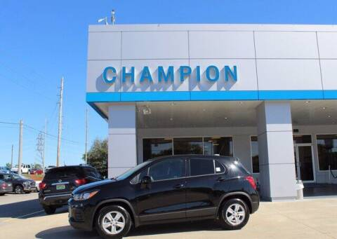 2021 Chevrolet Trax for sale at Champion Chevrolet in Athens AL