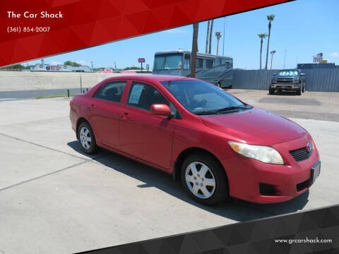 2009 Toyota Corolla for sale at The Car Shack in Corpus Christi TX