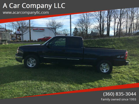 2005 Chevrolet Silverado 1500 for sale at A Car Company LLC in Washougal WA