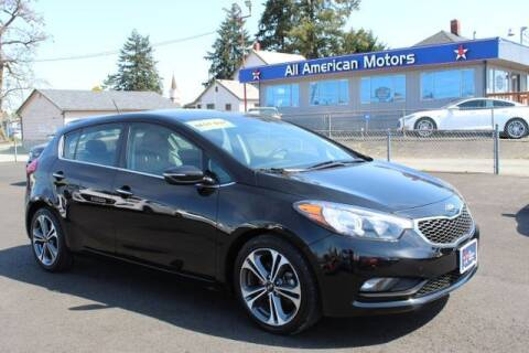 2016 Kia Forte5 for sale at All American Motors in Tacoma WA
