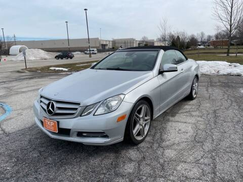 2013 Mercedes-Benz E-Class for sale at TKP Auto Sales in Eastlake OH