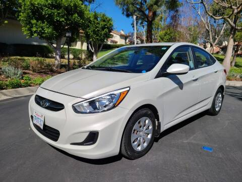 2016 Hyundai Accent for sale at E MOTORCARS in Fullerton CA
