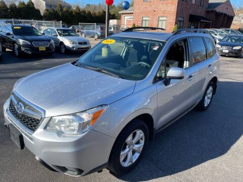 2016 Subaru Forester for sale at KINGSTON AUTO SALES in Wakefield RI