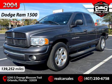 2004 Dodge Ram Pickup 1500 for sale at Real Car Sales in Orlando FL