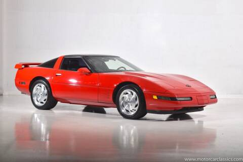1992 Chevrolet Corvette for sale at Motorcar Classics in Farmingdale NY
