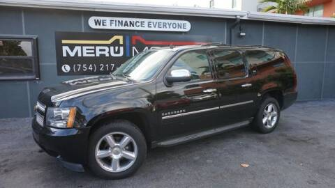 2013 Chevrolet Suburban for sale at Meru Motors in Hollywood FL