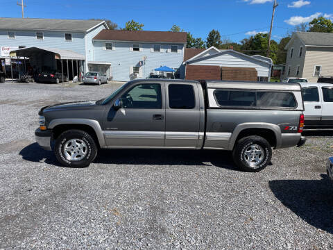 2002 Chevrolet Silverado 1500 for sale at DOUG'S USED CARS in East Freedom PA