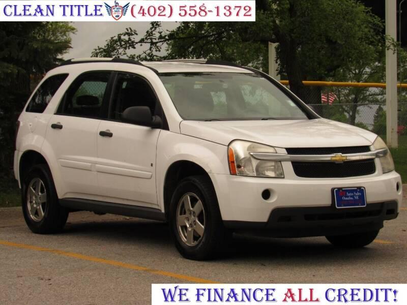 2009 Chevrolet Equinox for sale at NY AUTO SALES in Omaha NE