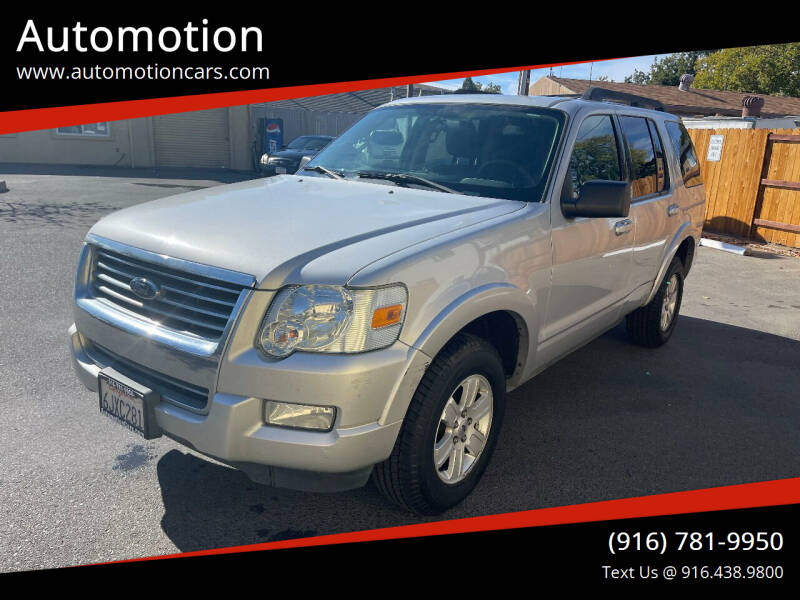 2010 Ford Explorer for sale at Automotion in Roseville CA