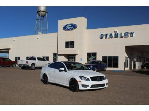 2015 Mercedes-Benz C-Class for sale at STANLEY FORD ANDREWS in Andrews TX