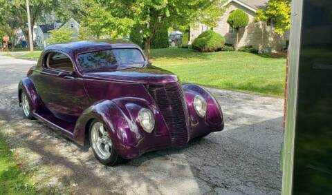 1937 Ford Coupe for sale at Classic Car Deals in Cadillac MI