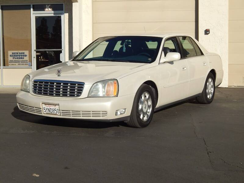 2002 Cadillac DeVille for sale at Gilroy Motorsports in Gilroy CA