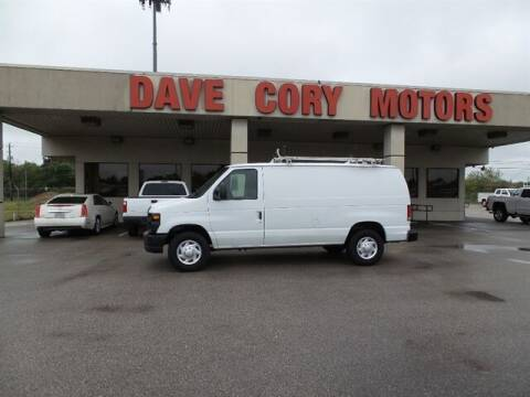 2013 Ford E-Series Cargo for sale at DAVE CORY MOTORS in Houston TX