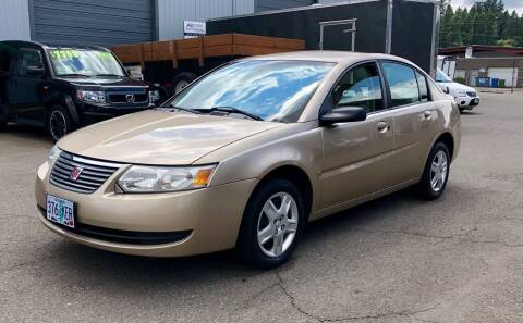 2006 Saturn Ion for sale at DASH AUTO SALES LLC in Salem OR