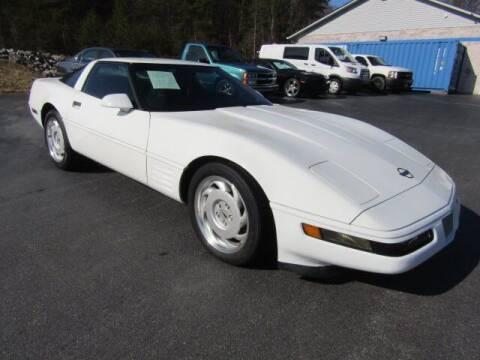 1991 Chevrolet Corvette for sale at Specialty Car Company in North Wilkesboro NC