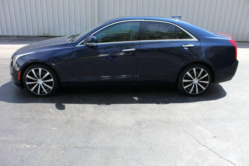 2015 Cadillac ATS for sale at Lansing Auto Mart in Lansing KS