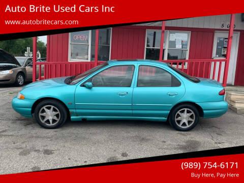 1995 Ford Contour for sale at Auto Brite Used Cars Inc in Saginaw MI