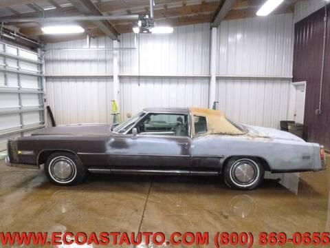 1975 Cadillac Eldorado for sale at East Coast Auto Source Inc. in Bedford VA