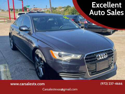 2015 Audi A6 for sale at Excellent Auto Sales in Grand Prairie TX