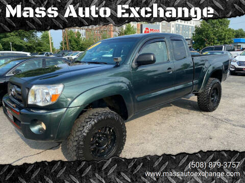 2010 Toyota Tacoma for sale at Mass Auto Exchange in Framingham MA