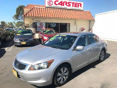 2009 Honda Accord for sale at CARSTER in Huntington Beach CA