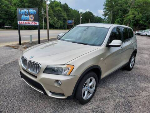 2011 BMW X3 for sale at Let's Go Auto in Florence SC