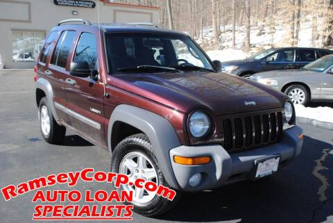 2004 Jeep Liberty for sale at Ramsey Corp. in West Milford NJ