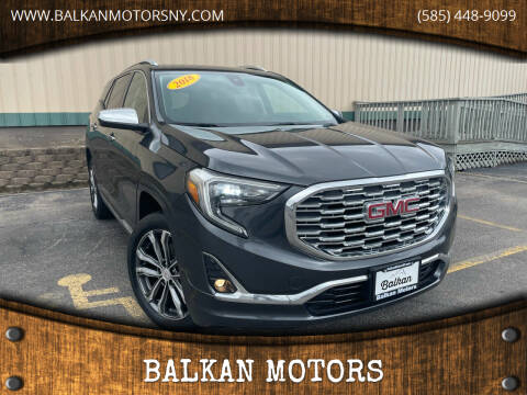 2018 GMC Terrain for sale at BALKAN MOTORS in East Rochester NY