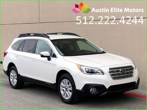 2015 Subaru Outback for sale at Austin Elite Motors in Austin TX