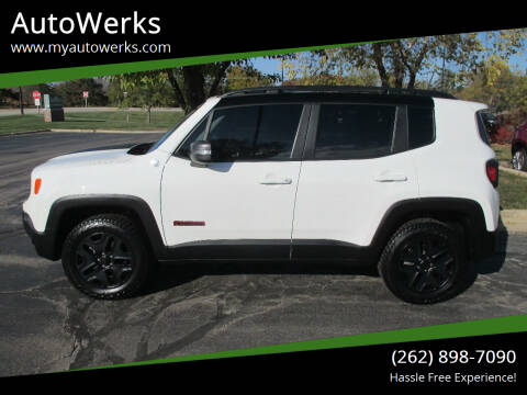2018 Jeep Renegade for sale at AutoWerks in Sturtevant WI