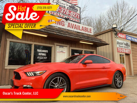 2016 Ford Mustang for sale at Oscar's Truck Center, LLC in Houston TX