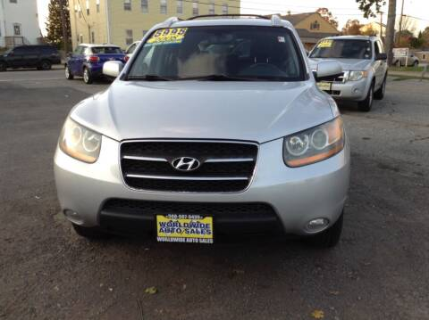 2008 Hyundai Santa Fe for sale at Worldwide Auto Sales in Fall River MA
