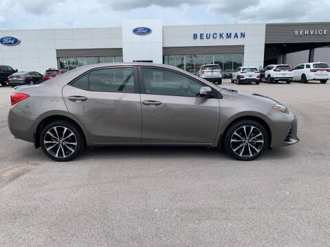 2017 Toyota Corolla for sale at St. Louis Used Cars in Ellisville MO