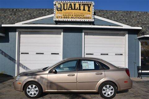 2006 Suzuki Forenza for sale at Quality Pre-Owned Automotive in Cuba MO