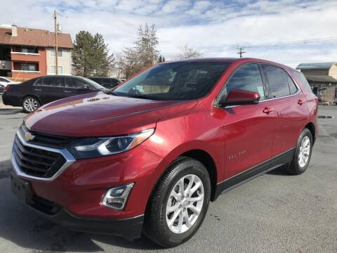 2018 Chevrolet Equinox for sale at INVICTUS MOTOR COMPANY in West Valley City UT