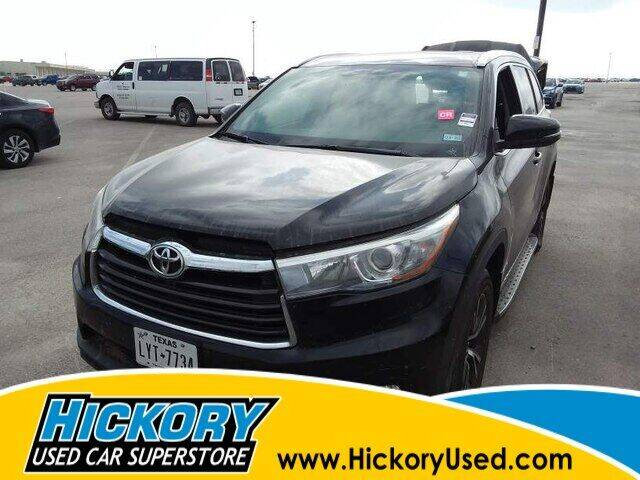 2016 Toyota Highlander for sale at Hickory Used Car Superstore in Hickory NC