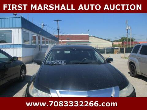 2011 Acura TL for sale at First Marshall Auto Auction in Harvey IL