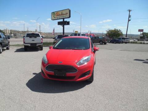 2015 Ford Fiesta for sale at Sundance Motors in Gallup NM