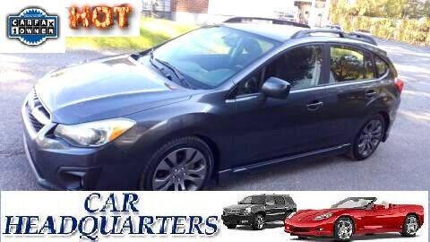2013 Subaru Impreza for sale at CAR  HEADQUARTERS in New Windsor NY
