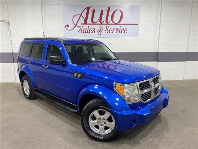 2007 Dodge Nitro for sale at Auto Sales & Service Wholesale in Indianapolis IN