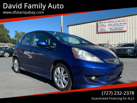 2009 Honda Fit for sale at David Family Auto in New Port Richey FL