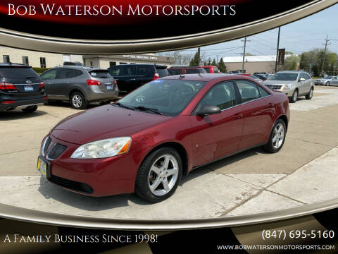 2009 Pontiac G6 for sale at Bob Waterson Motorsports in South Elgin IL