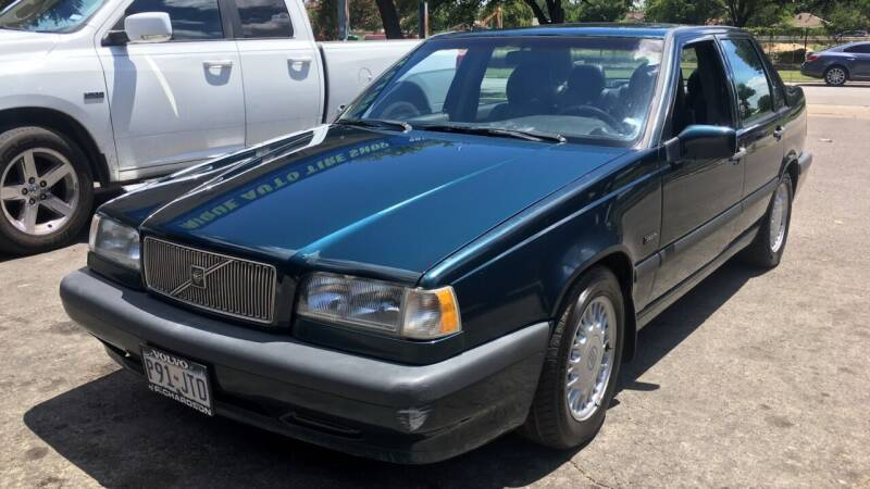 1994 Volvo 850 for sale at TETCO AUTO SALES  / TETCO FUNDING in Dallas TX