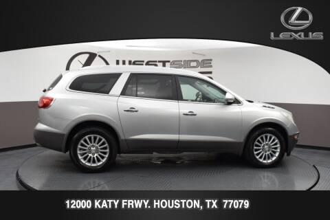2012 Buick Enclave for sale at LEXUS in Houston TX
