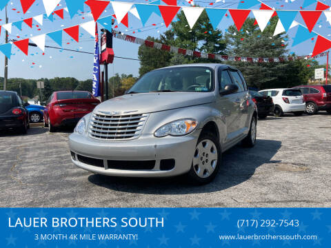 2007 Chrysler PT Cruiser for sale at LAUER BROTHERS SOUTH in York PA
