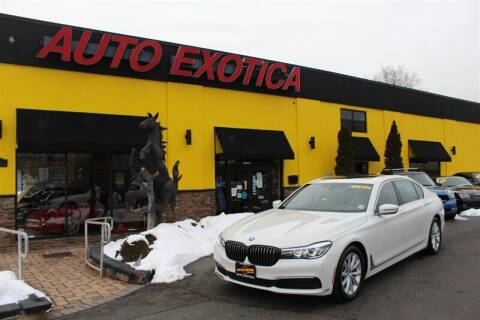 2019 BMW 7 Series for sale at Auto Exotica in Red Bank NJ