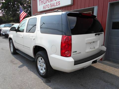 2011 GMC Yukon for sale at THURMONT AUTO SALES in Thurmont MD